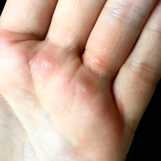 'Ladies should have nice soft hands' apparently and I call BS. I think ladies' hands should be whatever they want them to be.  Personally I want to be strong so therefore my hands have to put up with quite a lot. Hello calluses, I love you